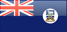 Falkland Islands flag - medium - style 4