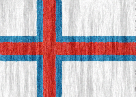 Faroe Islands flag - large - style 2