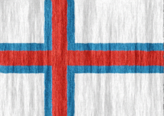 Faroe Islands flag - medium - style 2