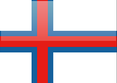 Faroe Islands flag - medium - style 4