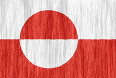 Greenland flag - medium - style 2