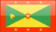 Grenada flag - small - style 4