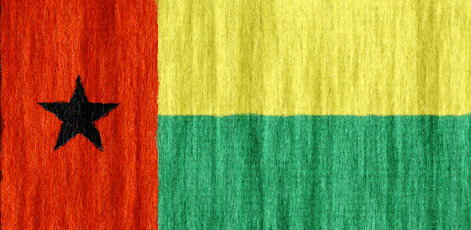 Guinea Bissau flag - large - style 2