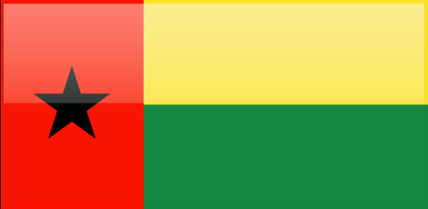 Guinea Bissau flag - large - style 4
