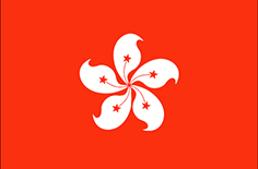 Hong Kong flag - medium - style 1