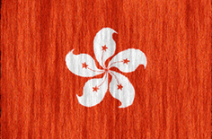 Hong Kong flag - medium - style 2