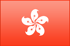 Hong Kong flag - medium - style 3