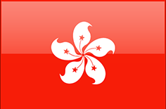 Hong Kong flag - medium - style 4