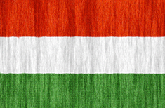 Hungary flag - medium - style 2