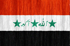 Iraq flag - medium - style 2