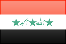 Iraq flag - medium - style 3
