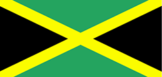 Jamaica flag - medium - style 1