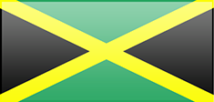 Jamaica flag - medium - style 3