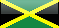 Jamaica flag - medium - style 4