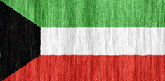 Kuwait free flag (medium)