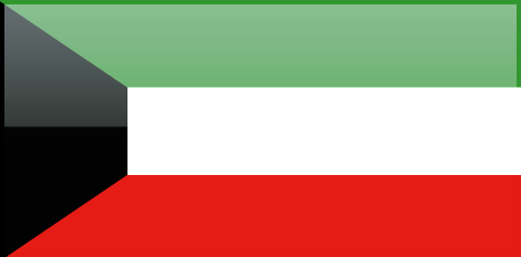 Kuwait free flag (large)