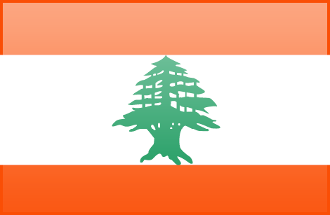 Lebanon free flag (large)