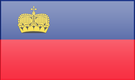 Liechtenstein free flag (large)