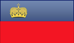 Liechtenstein free flag (medium)