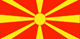 Macedonia flag - small - style 1