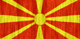 Macedonia flag - small - style 2