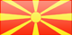 Macedonia flag - small - style 3