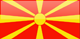 Macedonia flag - small - style 4