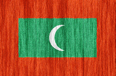 Maldives flag - medium - style 2