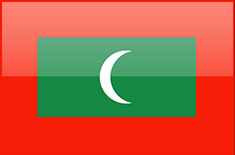 Maldives flag - medium - style 4