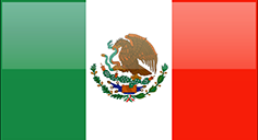Mexico flag - medium - style 4