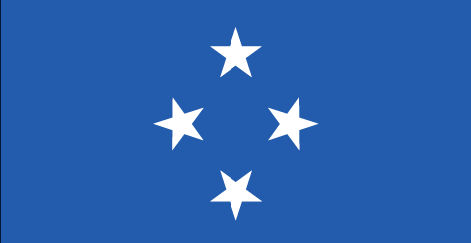 Micronesia flag - large - style 1