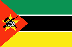 Mozambique flag - medium - style 1