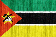 Mozambique flag - medium - style 2