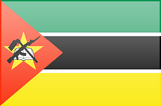Mozambique flag - medium - style 3