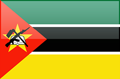 Mozambique flag - medium - style 4