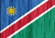 Namibia flag - small - style 2