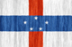 Netherlands Antilles free flag (small)