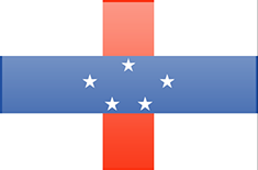Netherlands Antilles flag - medium - style 3