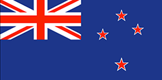 New Zealand flag - medium - style 1