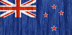 New Zealand flag - medium - style 2