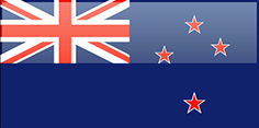 New Zealand flag - medium - style 4