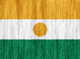 Niger flag - small - style 2