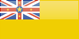 Niue flag - small - style 4