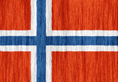 Norway flag - medium - style 2