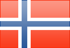 Norway flag - medium - style 3