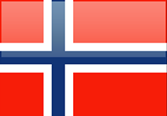 Norway flag - medium - style 4