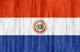 Paraguay flag - small - style 2