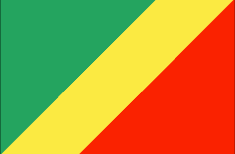 Republic of the Congo flag - large - style 1