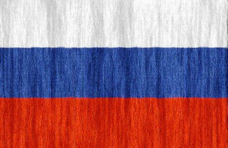 Russian Federation flag - large - style 2