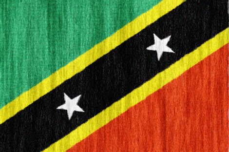 Saint Kitts and Nevis flag - large - style 2